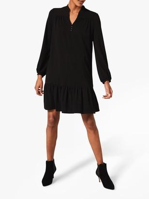 Phase Eight Zinnea Mini Swing Dress, Black