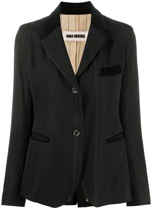 UMA WANG Fitted Single-Breasted Blazer