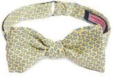 Vineyard Vines 'Fish Food' Print Silk Bow Tie