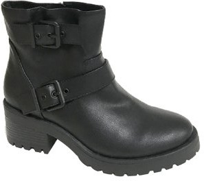 Scoop Yvie Buckled Lug Sole Boots Women's