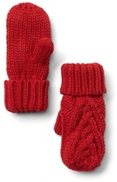 Gap Cable knit mittens