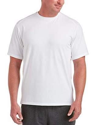 Amazon Essentials Men's Big & Tall Performance Cotton Short-Sleeve T-Shirt Shirt