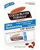 Palmers Cocoa Butter Formula Moisturizing Lip Balm with Vitamin E & SPF 15 - Pack of 2