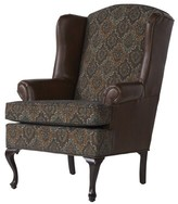 Wingback Chair Astoria Grand Upholstery Color: Trotter Chocolate