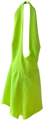 Aq/Aq Aqaq Yellow Jumpsuit for Women