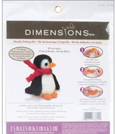 Dimensions Penguin Needle Felt Kit, Multi-Colour