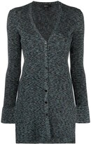Thumbnail for your product : Theory ribbed-knit V-neck cardigan