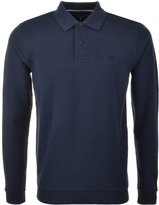 Gant Smart Structure Polo T Shirt Blue