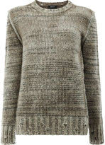 Avant Toi crew-neck jumper - women - Cashmere/Merino/Silk - S
