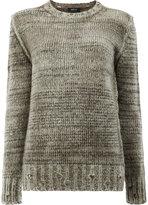 Avant Toi crew-neck jumper - women - Silk/Cashmere/Merino - S