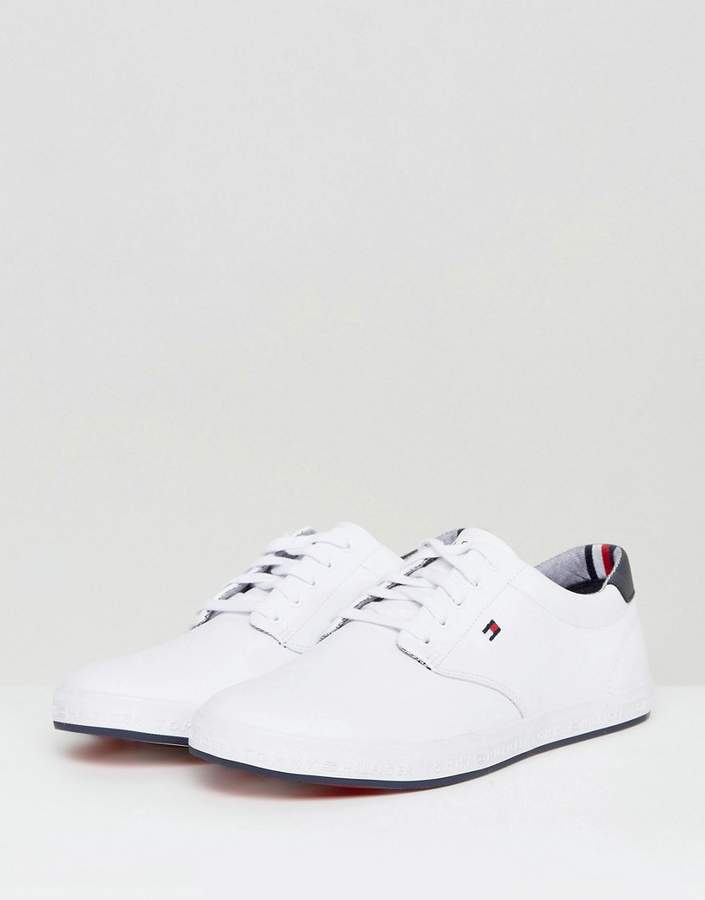 Tommy Hilfiger Howell Sneakers Leather In White