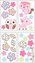 Graco Woodland Wall Decals, Girl (Discontinued by Manufacturer)