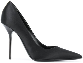 Tom Ford Satin 105mm Pointed Toe Pumps