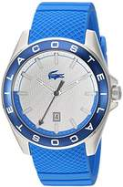 Lacoste Men's 'Westport' Quartz Stainless Steel and Silicone Casual Watch, Color:Blue (Model: 2010905)