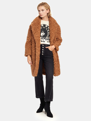 C/Meo Profuse Faux Fur Coat