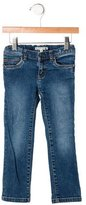 Bonpoint Girls' Stud-Embellished Jeans