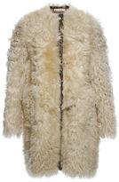 Marni Agnello Gitana Leather Coat