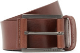 Hugo Boss - 4cm Brown Sian Leather Belt