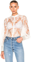 I.D. Sarrieri Lace Shirt Bodysuit