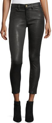 Frame Le Skinny Leather Pants