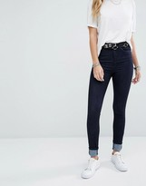 Noisy May Lexi High Rise Skinny Jeans