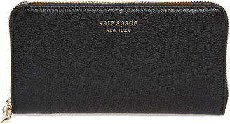 Kate Spade Florence Zip Around Leather Wallet