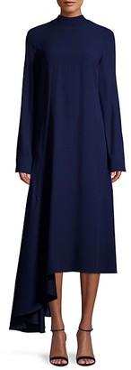 Marni Asymmetrical Midi Dress