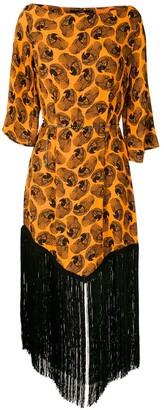 Eva Arara printed midi dress
