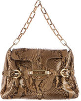 Jimmy Choo Python Tulita Shoulder Bag