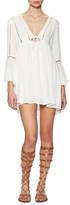 Free People Romeo Gathered Flared Mini Dress