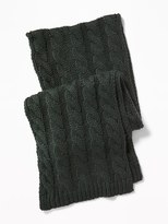 Old Navy Chunky Cable-Knit Scarf for Men