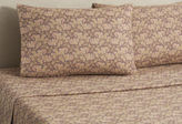 Belle Epoque Flannel Paisley Sheet Set, Brown