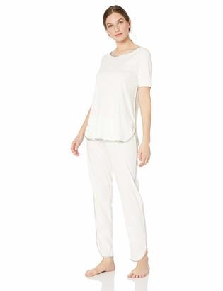 Hanro Women's NELA Short Sleeve Pajama Set