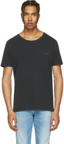 Nudie Jeans Black Ove T-Shirt