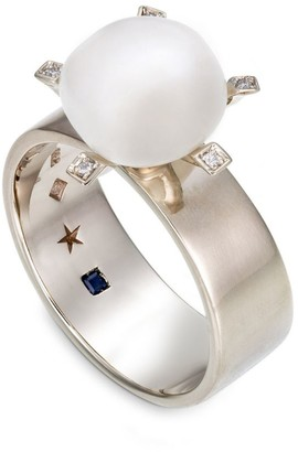 H.Stern Noble Gold, Diamond and Pearl Ring
