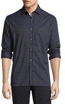 Billy Reid John T Standard-Fit Shirt, Indigo