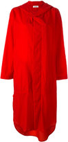 Plantation buttoned hooded coat - women - Nylon - M