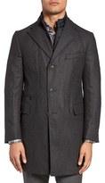 Corneliani Men's Classic Fit Wool & Cashmere Topcoat