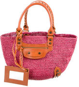 Balenciaga Small Panier Basket Bag