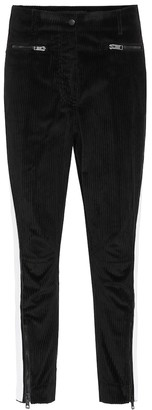 Haider Ackermann Stretch-cotton cropped skinny pants