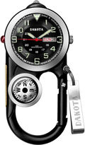 Dakota Men's Black Angler II Carabiner Clip Watch 37089