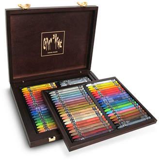 Caran d'Ache Neocolor I and Ii in A Wood Box, 30 Color Assortment
