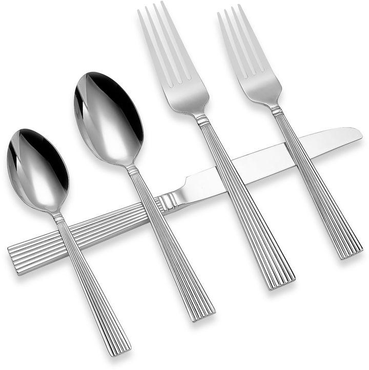 Reed & Barton Silver Strands 45-Piece Flatware Set