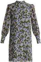 Erdem Mirela blouson-sleeved silk crepe de Chin dress