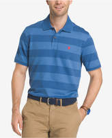 Izod Men's Advantage Performance UPF 15+ Stripe Polo