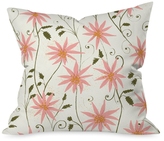 DENY Designs Folklore Floral Throw Pillow