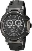 Tissot Men's T0484173705700 T-Race Chronograph Dial Rubber Strap Watch