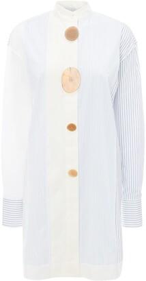 J.W.Anderson Multi-Panel Stripe Print Shirt