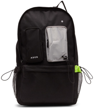 ADER error Black Oversize Backpack