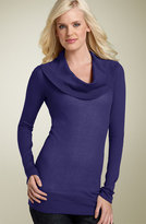 Hinge® Cowl Neck Blouson Sweater